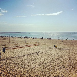 Barcelone plage Icaria