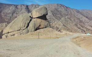 turtle rock parc ghorki mongolie